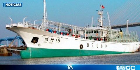 Autoridades se reúnen tras alerta de embarcación pesquera china en Galápagos