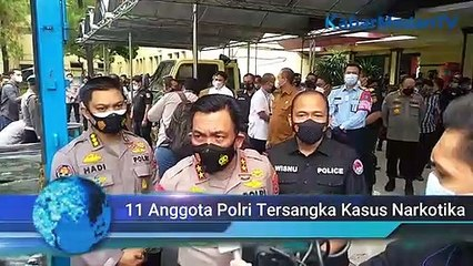11 Anggota Polri Jadi Tersangka Kasus Narkotika