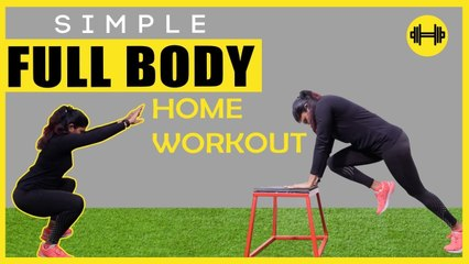 5 Simple Full Body Workouts for Weight Loss |  No Equipment Beginners Exercise | Say Swag