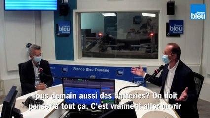 Tour de France à Tours : E. Denis et C. Prudhomme, invités sur France Bleu Touraine
