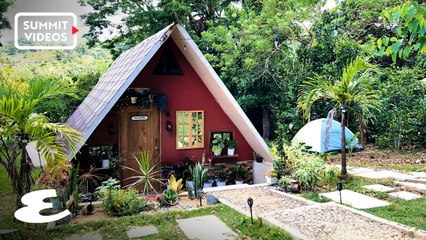 This Family Built A Tiny House With An Indoor Pool, Mini Forest, And Tree House For P350,000
