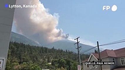 Hitzewelle: Waldbrände lodern in Kanada