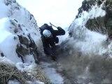 Alpinisme dans les Aiguilles du Diable