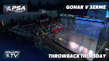 Squash: #Throwback Thursday - Gohar v Serme - Women's World Championships 2015