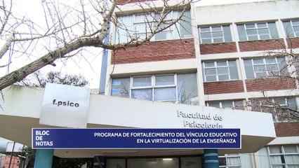 Programa de fortalecimiento del vínculo educativo en la virtualización