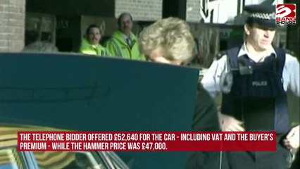 Princess Diana Ford Escort Sold At Auction