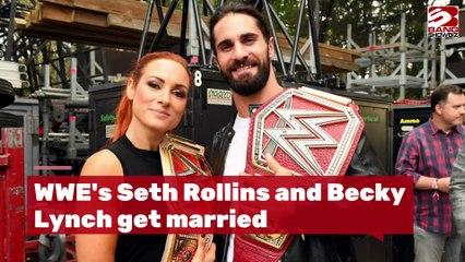 Seth Rollins Marries