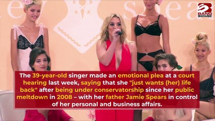 Britney Spears vows to make big changes in her life