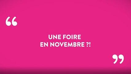 Foire 2021 : rdv du 6 au 14 novembre