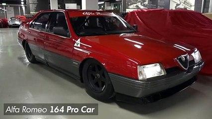 Alfa Romeo 164 Procar découverte furtive d'une familiale ensorcelée.
