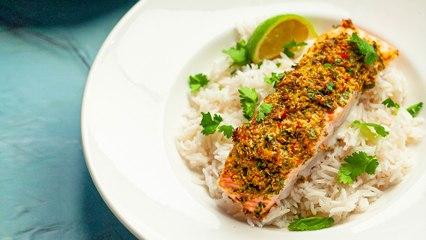 Spicy Coconut Salmon