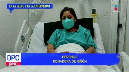 Mujer donó a su esposo un riñón para darle vida