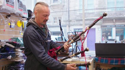 The last artisan bagpipe workshop in Scotland's capital is keeping over 600 years of heritage alive