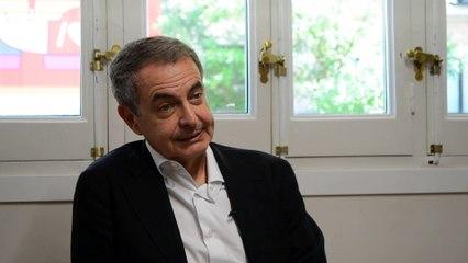 """Zapatero: """"Un referèndum a Catalunya és un fracàs"""""""