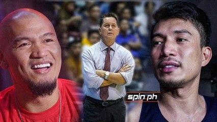 Cone makes comparison between James Yap, Mark Caguioa