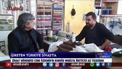 Üreten Türkiye - 3 Temmuz 2021 - Sivas - Cenk Özdemir - Ulusal Kanal