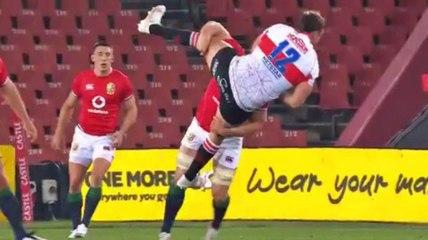 L'énorme plaquage d'Hamish Watson face aux Lions