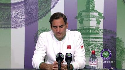 """Wimbledon 2021 - Roger Federer est en huitièmes : """"Tout ce qui vient maintenant, c'est du bonus"""""""
