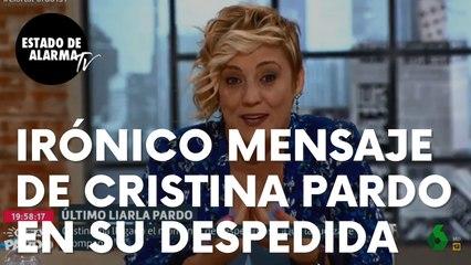 """El irónico mensaje de Cristina Parto en su adiós a su programa en La Sexta: """"Super malas personas"""""""