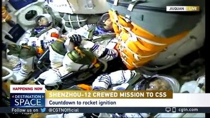 Primeras caminatas espaciales de los astronautas chinos en órbita