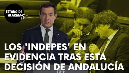 """Los 'indepes' quedan en evidencia después de esta decisión de Andalucía: """"No existe otra forma…"""""""
