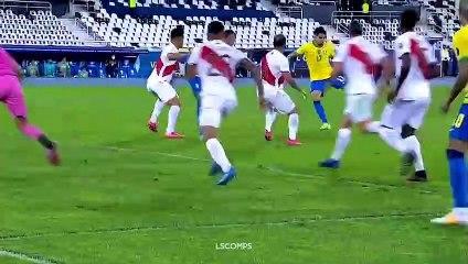 Le best of de Neymar face au Pérou