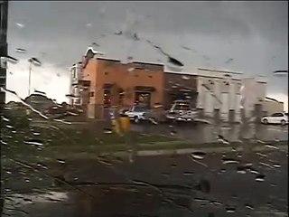 TEXAS TORNADO FEST - July 6, 2021 NPD Dashcam Tornado Video