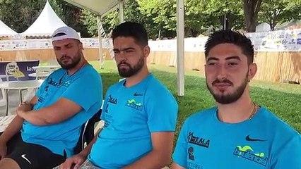 La triplette Maïky Molinas  témoigne à chaud après la victoire