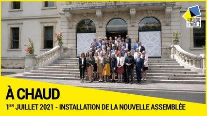 [A CHAUD] - Session de Droit - Installation de la nouvelle assemblée