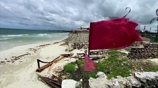 Storm Elsa lashes Cuba as its heads towards Florida