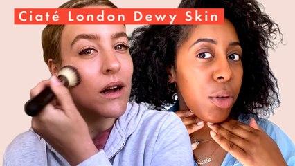 Beauty Lab tests the Ciaté London Dewy Skin glass glow tint