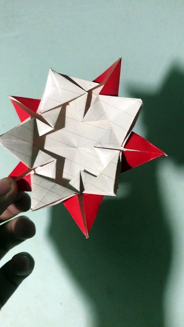 origami star / paper star / handmade star / diy star demo