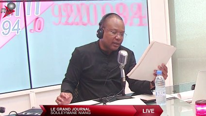 LE GRAND JOURNAL #RFM 12H  AVEC SOULEYMANE NIANG & LA RÉDACTION - 06 JUILLET 2021