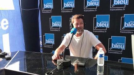 Christophe Mae en direct sur France Bleu Hérault, nuits du Peyrou 2021