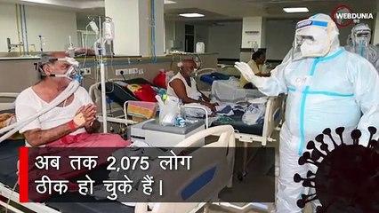 आंध्र प्रदेश में ब्लैक फंगस के 3,703 मामले, 275 की गई  जान