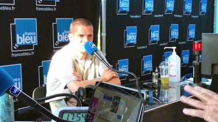 Hervé en direct sur France Bleu Hérault, les Nuits du Peyrou
