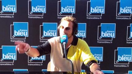 Amir en direct sur France Bleu Hérault, les Nuits du Peyrou