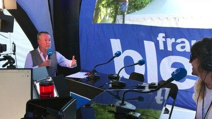 Daphné Burki en direct sur France Bleu Hérault, les Nuits du Peyrou