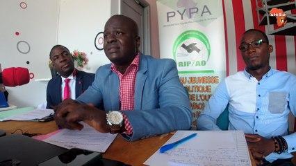 Gerald Brou, coordonnateur national PYPA sensibilise la jeunesse