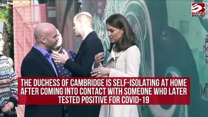 Duchess Of Cambridge in Covid19 Self Isolation
