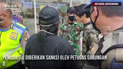 Lihat Aksi Pria Tantang Anggota TNI 'SAYA JUGA ABRI NIH'