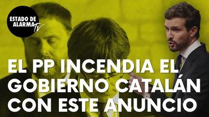 """Pablo Casado incendia el Gobierno 'indepe' de Cataluña con serio anuncio: """"Si Sánchez no hace nada…"""""""