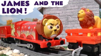 New Thomas and Friends Big World Big Adventures James and the Lion with the Funlings in this Family Friendly Full Episode English Toy Trains Stop Motion Video for Kids by Kid Friendly Family Channel Toy Trains 4U