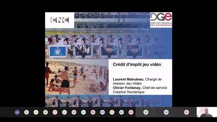 Webinaire Crédit d'Impôt Jeu Video - CNC - 30 juin 2021
