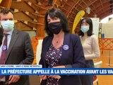A la Une : Le vaccin dans les bagages / Les images de l'entrainement des verts / Enième polémique à Lorette - Le JT - TL7, Télévision loire 7