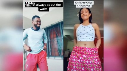 Best Africa Waist Dance Challenge _ TikTok trends compilation