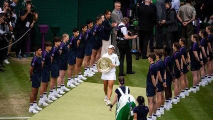 Ash Barty wins ladies Wimbledon title