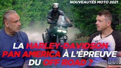 Que vaut la Harley Davidson Pan America en Off Road