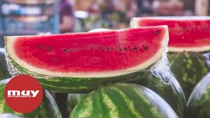 Cuidado con comprar melón o sandía ya cortados
