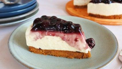 No-Bake Blueberry Cheesecake Recipe   Yummy PH